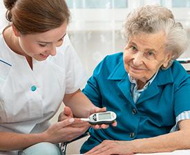 Пансионат престарелых для диабетиков