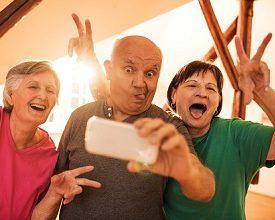 Отдых для активных пожилых людей