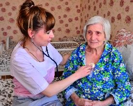 Уход за больными престарелыми