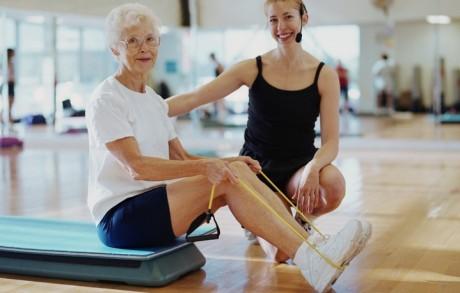 Физкультура испорт впожилом возрасте