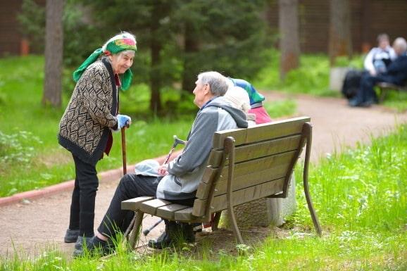 размещение пожилых родственников в пансионате
