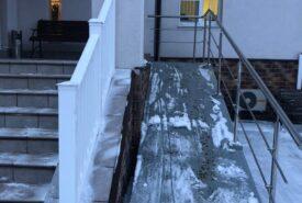 лестницы с пандусами