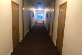просторные коридоры